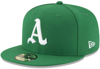 New Era Oakland Athletics Turn Back The Clock 59FIFTY Fitted Cap
