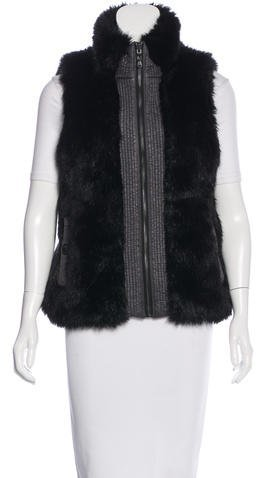 Marc By Marc Jacobs Marc by Marc Jacobs Reversible Faux-Fur Vest