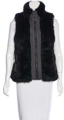 Marc by Marc Jacobs Reversible Faux-Fur Vest