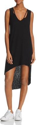 Michelle by Comune Distressed High/Low Tank Dress $42 thestylecure.com