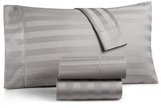 Charter Club Damask Stripe Extra Deep Pocket Queen 4-Pc Sheet Set, 550 Thread Count 100% Supima Cotton