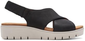 Clarks Un Karely Sun Leather Sandals