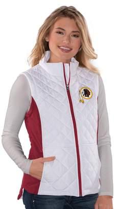 Women's Washington Redskins Quilted Vest