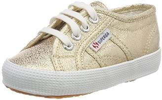 Superga Unisex Kids' 2750 LAMEBUMPJ Trainers, (Gold S174), 13UK Child