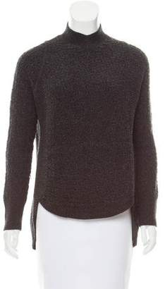 Theyskens' Theory Wool Mock Neck Sweater