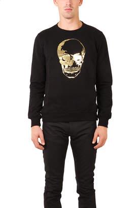 Markus Lupfer Skull Gold Foil Sweatshirt