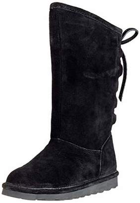BearPaw Women 1955W High Boots Black Size: