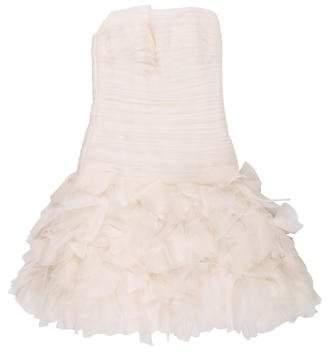 Couture Liancarlo Ruffled Evening Dress