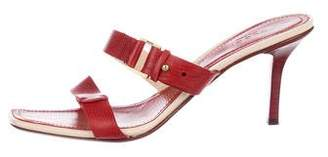 Gucci Multi-Strap Leather Sandals