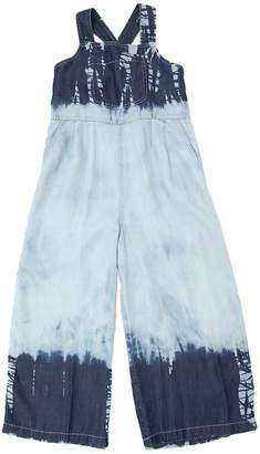 Stella McCartney Tie Dyed Chambray Overalls