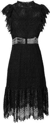 Philosophy di Lorenzo Serafini short sleeve lace dress