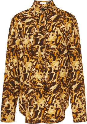 Victoria Beckham Printed Fitted Shirt