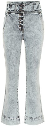 Ulla Johnson Ellis high-rise flared jeans