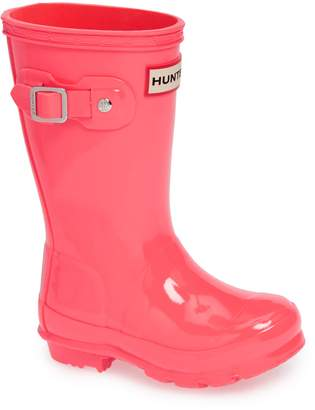 Hunter Gloss Waterproof Rain Boot