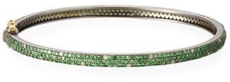Siena Jewelry Tsavorite & Scattered Diamond Bracelet
