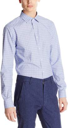 Scotch & Soda Men's Summer Shirt in Structured Quality