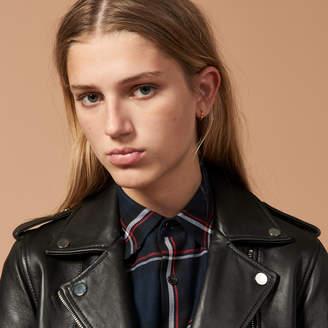 Sandro Short Leather jacket