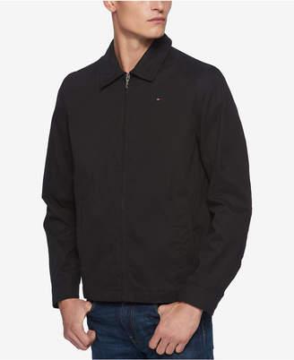 Tommy Hilfiger Men's Lightweight Full-Zip Micro-Twill Jacket