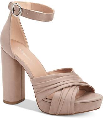 BCBGeneration Flora Platform Dress Sandals Women Shoes