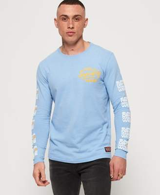 Superdry Ticket Type Pastel Long Sleeve T-Shirt