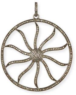 Margo Morrison Diamond Wheel Enhancer Charm Pendant