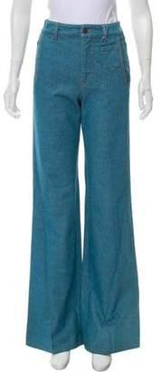 Prada Sport High-Rise Flare Fit Jean w/ Tags