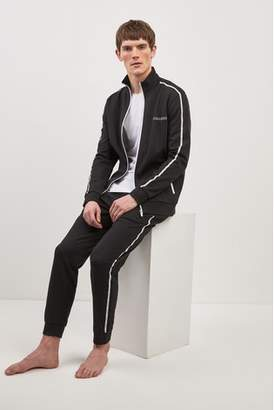 Next Mens BOSS Black Zip Through Jacket