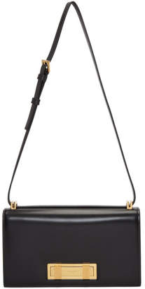 Saint Laurent Black Small Domino Satchel