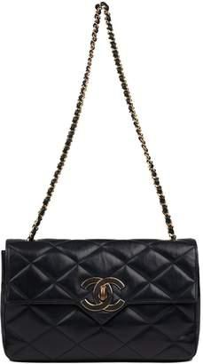 41f12ea5daae1f Chanel Vintage Timeless/Classique Navy Leather Handbag