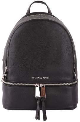 "MICHAEL Michael Kors Rhea"" Grained Leather Backpack"""