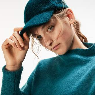 Lacoste Women's Alpaga And Wool Jersey Cap