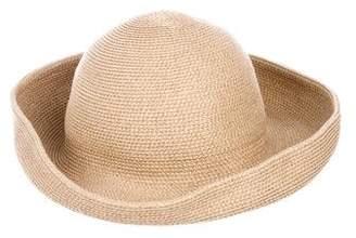 Eric Javits Straw Bucket Hat
