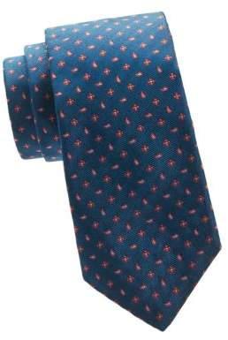 Kiton Mixed Medallion Silk Tie