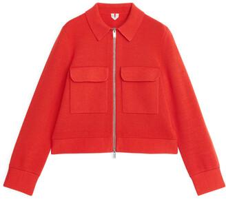Arket Merino & Cotton Box Jacket