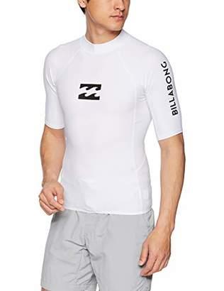 Billabong (ビラボン) - [ビラボン] [メンズ] 半袖 ラッシュガード Tシャツ (タイトフィット)[ AJ011-850 / RASH GUARD ] 海 スポーツ おしゃれ WHT_ホワイト US XL (日本サイズXL相当)
