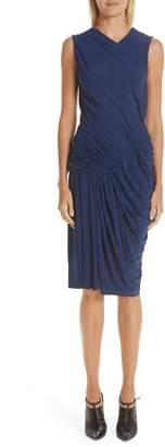 Jason Wu Ruched Jersey Sheath Dress