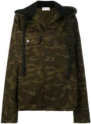 Faith Connexion hooded military jacket