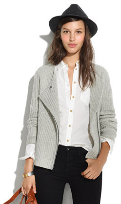 Madewell Viewpoint Sweater-Jacket