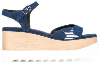 Stella McCartney denim Elyse sandals