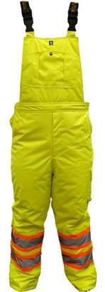 Viking Men's Professional Freezer Insulated Journeyman 300D Trilobal Rip-Stop Bib Pants