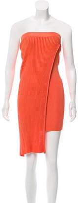 Torn By Ronny Kobo Rib Knit Midi Dress