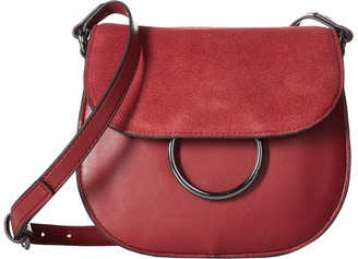 French Connection Delaney Saddle Bag $88 thestylecure.com