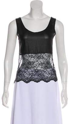 Gryphon Sleeveless Lace Top