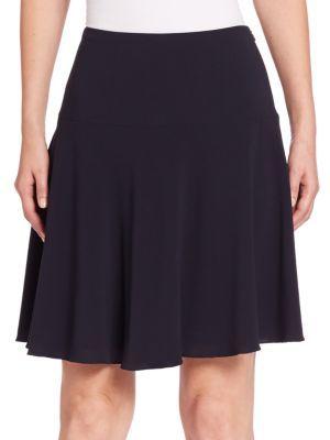 Armani Collezioni Stretch Wool Skirt