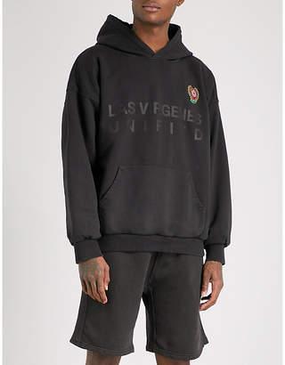 Yeezy Season 5 layered cotton-jersey hoody