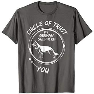 Vintage Circle Of Trust My German Shepherd And You T-shirt