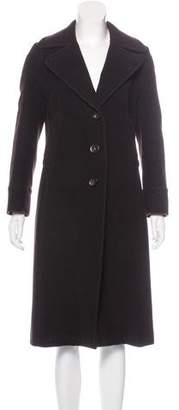 Akris Punto Wool-Blend Long Coat