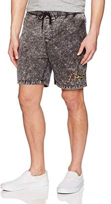 Rusty Men's Acid House 2 Elastic Short