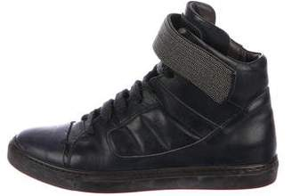 Brunello Cucinelli Monili High-Top Sneakers