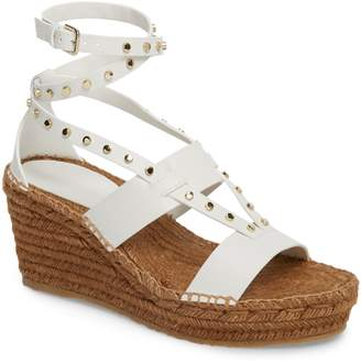 Jimmy Choo Danica Studded Wedge Espadrille